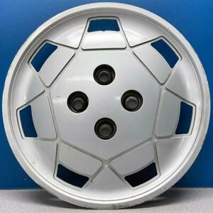 "ONE 1991-1995 Saturn S Series # 6000 14"" Hubcap / Wheel Cover GM # 21010130 USED"