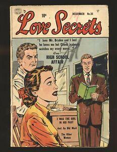 Love Secrets # 35 Good Cond.
