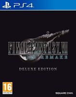 FINAL FANTASY VII 7 REMAKE - DELUXE EDITION BRAND NEW PS4