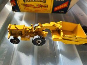 Matchbox lesney moko boxed major no1 caterpillar tractor earth mover MIB
