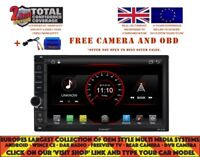 "ANDROID 8.1 2 DIN 7"" CAR DVD UNIVERSAL GPS NAVI BT RADIO USB CARPLAY DAB+ WIFI"