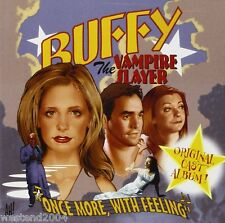 Buffy The Vampire Slayer Once More With Feeling Original Cast Recording  NEW CD
