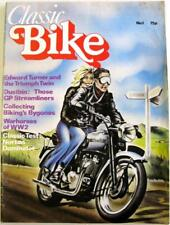 CLASSIC BIKE No.1 1st Issue March 1978 Motorcycle Magazine
