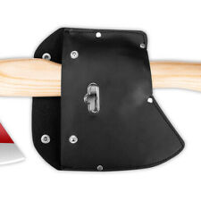 1PC Durable Leather Ax Axe Blade Cover Sheath Case with Hook for Camping Safety