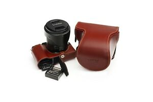 Genuine Real Leather Full Camera Case Bag Cover for Panasonic GX9 GX7 Mark iii