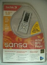 SANDISK SANSA 1.0 GB m240 MP3 Player - Sell for Charity