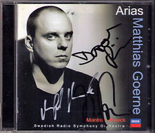 Matthias Goerne Dorothea Röschmann Manfred Honeck SIGNED Arias Mozart Wagner CD