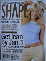 KRISTY HINZE November 2001 SHAPE Magazine