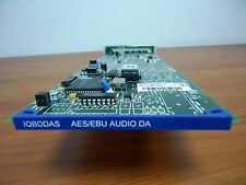 SNELL & WILCOX IQBDDAS DUAL DIGITAL AUDIO DISTRIBUTION CARD WITH REAR MODULE