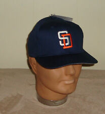 San Diego Padres Youth Snap Back Blue Baseball Hat Kids One Size NEW