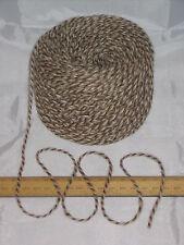 1000g 1kg Brown & Cream Marl 100% Pure Wool British Breed knitting dk EFW 509