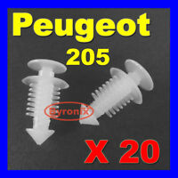 PEUGEOT 205 GTI REAR TAILGATE INTERIOR TRIM CLIPS PLASTIC FIXINGS 6996.45 X20