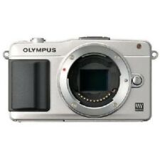 USED Olympus E-PM2 16MP Body Silver Excellent FREE SHIPPING
