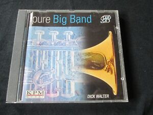 DICK WALTER Pure Big Band Part 1 CD KPM MUSIC LIBRARY CONTEMPORARY JAZZ
