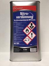 5 Liter Waschverdünnung Nitroverdünnung Nitro Verdünnung  Recolor für Autolack
