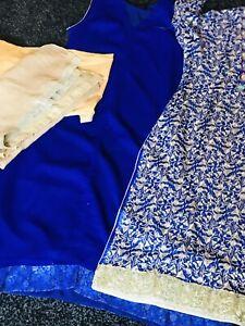 Pakistani Embrioded designer Shalwar Kameez STITCHED. Readymade Suit