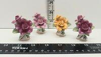 "1962 Royal Albert Old Country Roses Mini Rose Pieces 2"" Very Rare Beautiful"