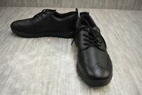 Geox J Xunday B.B Casual Shoe - Big Boy's Size 7, Black - NEW