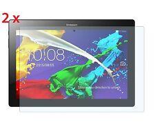 """2x Lenovo tb-x103f 10"""" Tableta PROTECTORES TRANSPARENTES pantalla [Pack de 2]"""