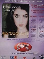 PUBLICITÉ 2003 CHÉRIE FM AVEC NOLWENN LEROY EN CONCERT - ADVERTISING