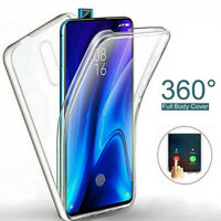 For Xiaomi Mi Poco X3 NFC 10T Lite 360° Full Protect Clear PC + TPU Case Cover