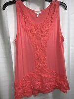 Maurices Coral Colored Top, Size M