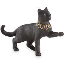 Lenox Gemmed Sentinel of the Night Black Cat Kitten Figurine Sculpture NIB w/COA