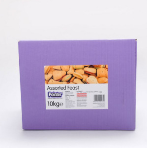 Pointer Assorted Feast Dog Treat Biscuits - 10kg
