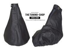 For Alfa Romeo GT 03-10 Gear & Handbrake Boot Leather Black