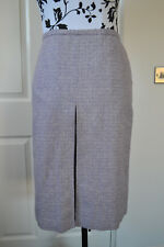 OASIS womens light purple silk and wool blend skirt size 8