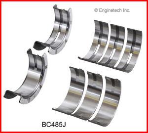 Engine Crankshaft Main Bearing Set ENGINETECH, INC. BC485J020