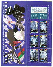 CARNET PERSONNAGES CELEBRES 1998 NEUF** QUALITE LUXE YVERT N° BC 3193
