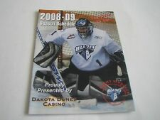 2008/09 WHL SASKATOON BLADES POCKET SCHEDULE***WESTERN HOCKEY LEAGUE***
