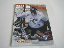 2008/09 WHL Saskatoon Blades Pocket Schedule***Western Hockey League***