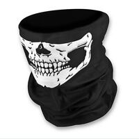 Skull Bandana Bike Motorcycle Helmet Neck Face Mask Paintball Ski Sport Headband