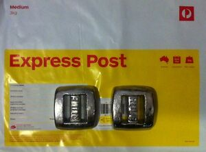 2x1.5kg Dive Weights Postage Included