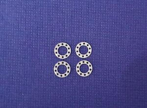 1:50 Scale Wheel Rings, 2 Pair, Tekno, Wsi,  Ideal For Code 3 Work, Brand New.