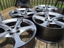 Set Of 4 Rims / Wheels Front 20x8, Rear 20x9 Removed From 2014 Chevy Camaro RS