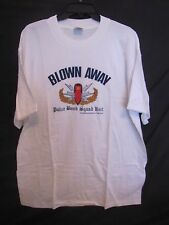 "VERY RARE!! - 1994 ""BLOWN AWAY"" Movie - Bridges/ Jones White T SHIRT XL"