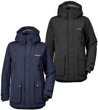 Didriksons Phil Mens Parka Waterproof Insulated Breathable Fleece Lined