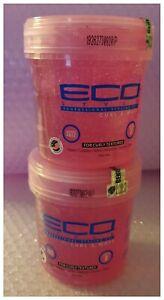 2 x Eco Style Professional Styling Gel Curl & Wave 16oz - Australia Stock