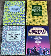 Lot of 4 Reader's Digest Song Books
