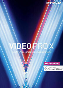 MAGIX Video Pro X 11 - Download And Lifetime Licence Key (RRP £349)