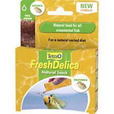 Tetra Fresh Delica Daphnia 16 x 3g Freshwater Fish Food Aquarium Treats Gel