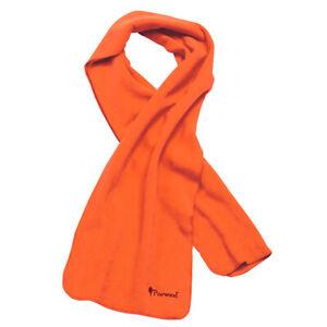 Pinewood Microfleece Schal orange Fleece Halstuch Tuch Outdoor Jagd Forst Hals