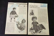 MODES ET TRAVAUX  Marie-Françoise-Françoise et Michel 1962  réf 222
