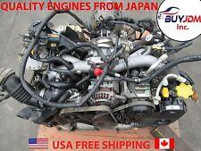 2002-2005 JDM Subaru Impreza WRX EJ205 DOHC 2.0L Turbo Engine Wiring Ecu AVCS GD