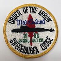 Vintage 1966 Order of the Arrow Swegedaigea Lodge 263 Patch Conclave Boy Scouts