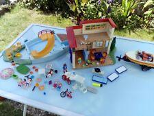 Lot PLAYMOBIL Maison de vacances !