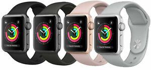 Apple Watch Series 3 38mm/42mm Aluminum GPS + GSM Cellular Smart Watch